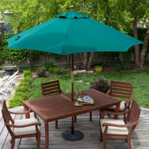 Outdoor Patio Table with Umbrella