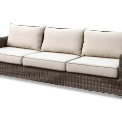 Outdoor Wicker Sofa Cushions Colonial Bed Deep Seating Replacement For Furniture