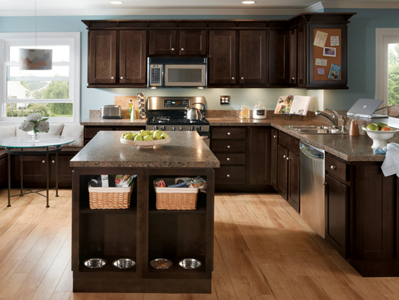 coffee color kitchen cabinets glass tiles for backsplash top 5 trends in espresso to watch roy