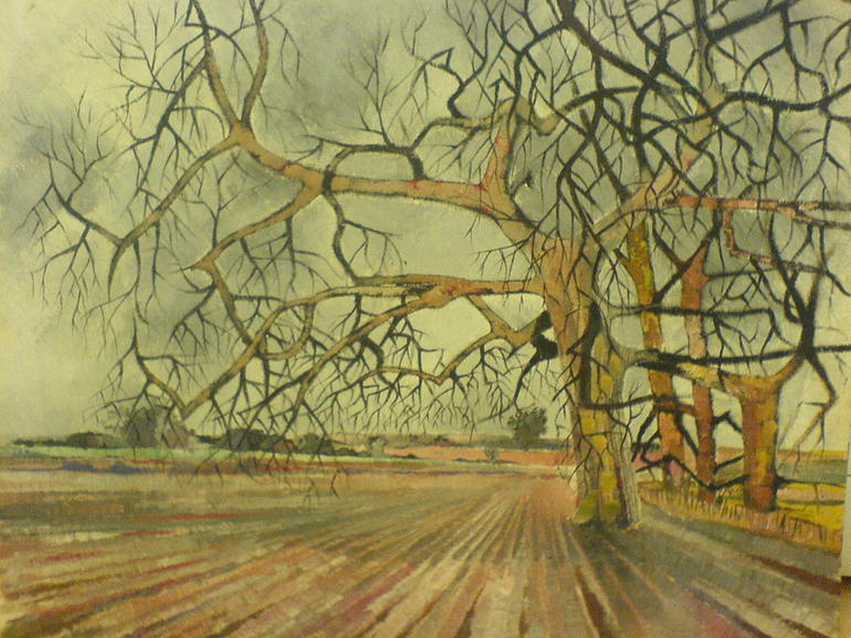 london, trees, wanstead flats,