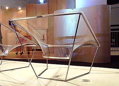 Trannon Furniture Perspex Chair by David Colwell VA and