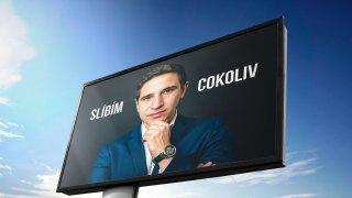 Smyšlený volební billboard