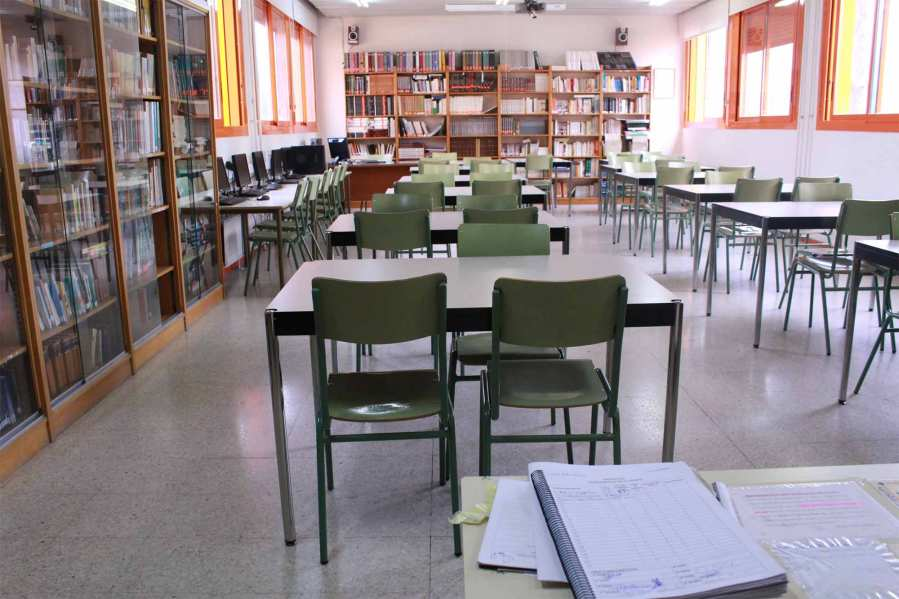Biblioteca IES Las Rozas 1