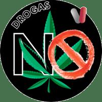 simbolo drogas no IES Las Rozas 1