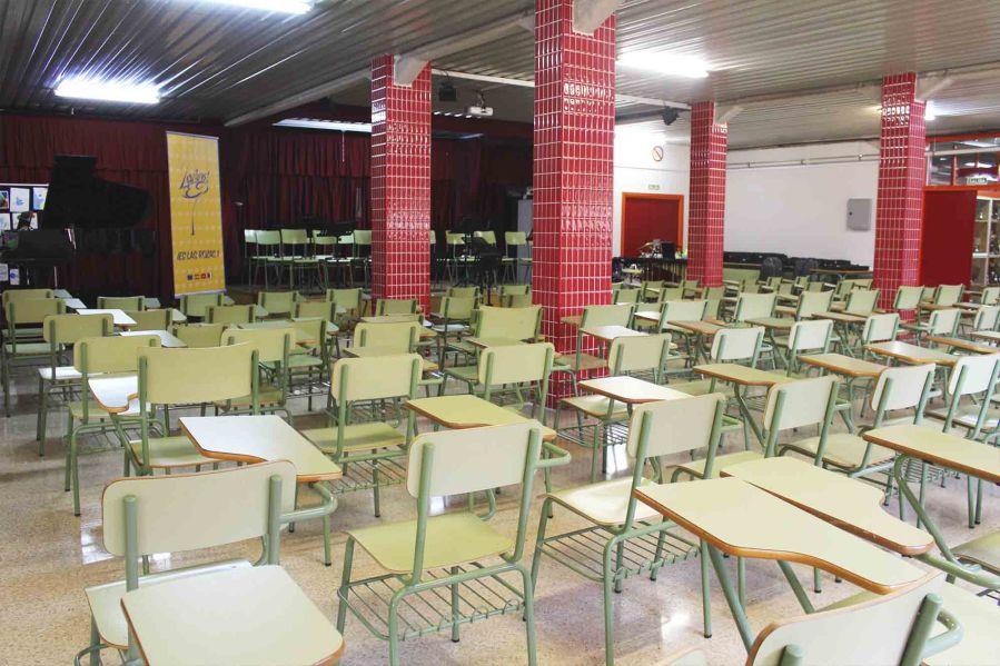 salon de actos classband IES Las Rozas 1
