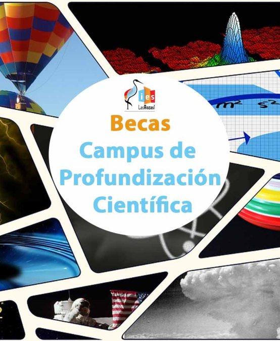 """Convocadas Ayudas Para Participar En El """"Campus de Profundización Científica"""""""