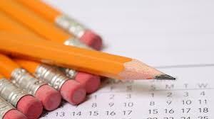 Exámenes de 1º de Bachillerato (Febrero)