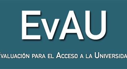 Novedades EvAU Madrid