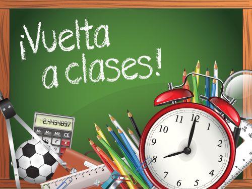 Recordatorio: Vuelta a las aulas