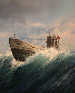 U-Boat by Augusto Ferrer-Dalmau