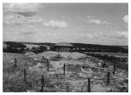 Fortyfikacje zwane linią Maginota