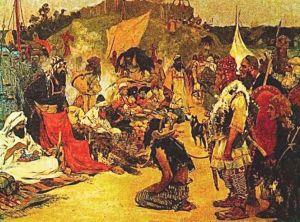 Wielu słowiańskich niewolników trafiało do kupców z kalifatu kordobańskiego – dopóki na początku XI w. nie pogrążył się on w politycznym kryzysie.