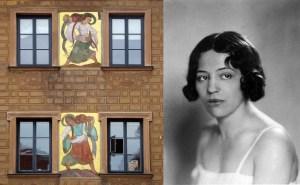 Zofia Stryjeńska (z domu Lubańska) postanowiła zdobywać wiedzę metodą Nawojki. Zanim ją zdemaskowano, przez rok uczyła się na monachijskiej ASP jako Tadeusz Lubański. Efekty jej pędu nauki - freski na kamienicy przy Rynku Starego Miasta w Krakowie - widzimy po lewej, a samą artystkę po prawej