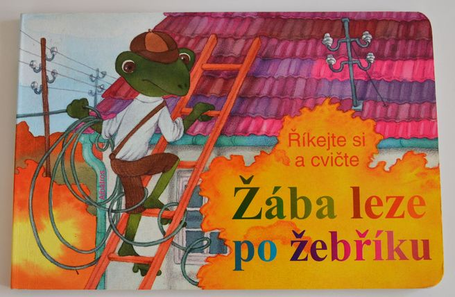 Žába leze po žebříku - Říkejte si a cvičte