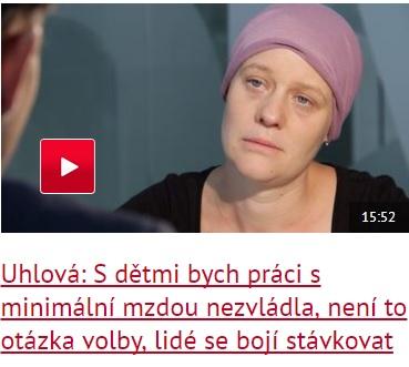 Uhlova rozhovor DVTV
