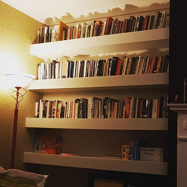 New Bookshelf After Months Of Our Poor Books