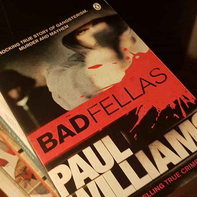 Book haul update. I'm finding myself reading loads and the moment due to my lovely teacher holidays. This is next on my list. It's Bad Fellas by Paul Williams. It's a definitive account of organised crime and how it evolved over the past 4 decades.