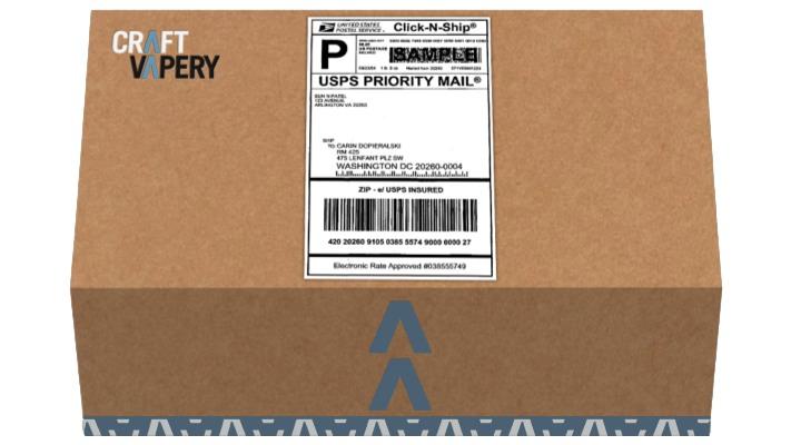 Craft Vapery box
