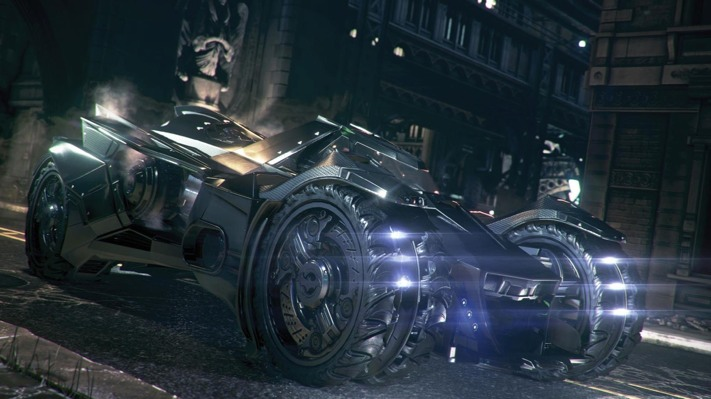 Batman Arkham Knight Batmobile E3 2014