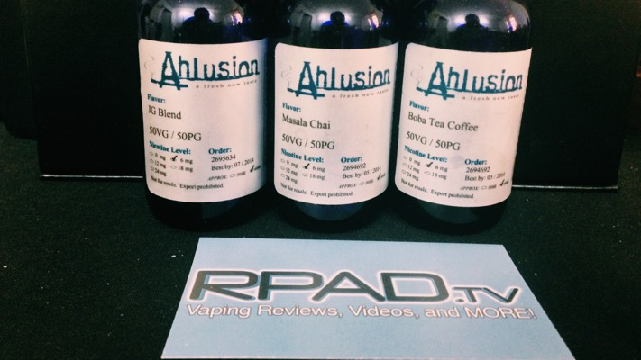 Ahlusion JG Blend, Masala Chai, Boba Tea Coffee
