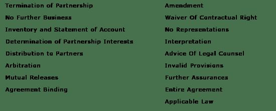 Business Partnership Dissolution Agreement