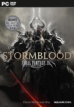 Cover of the MMORPG Final Fantasy XIV: Stormblood for PC