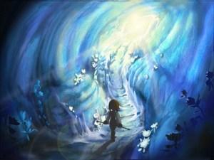 Konceptbild av Ice Cavern. Bilden kommer härifrån.