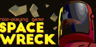 Space Wreck logo