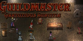 Guildmaster : Gratuitous Subtitle logo