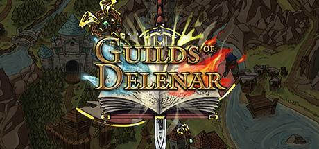 Guilds of delenar logo