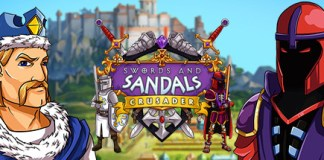 Swords and Sandals : Crusader logo