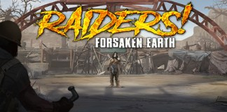 Raiders ! Forsaken Earth logo