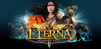 Eternal Heroes fall logo