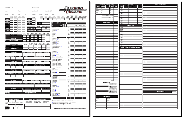 photo relating to 3.5e Character Sheet Printable named 100+ 3 5 Persona Sheet yasminroohi