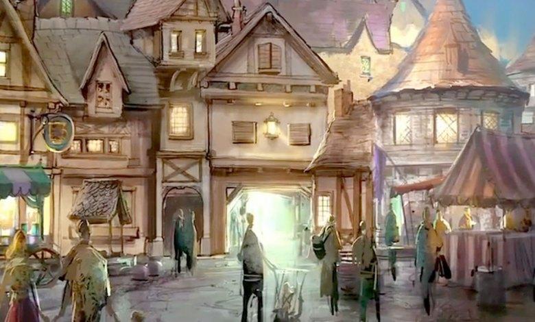 Imagem do podcast 1 da segunda fase de TESTE do RPG Next - Feira de vila medieval
