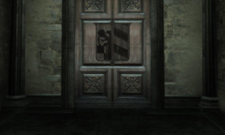 Porta de uma cripta - Imagem do Tarrasque na Bota 12 - A mina perdida de Phandelver - Episódio 12 - A Crítica Cripta