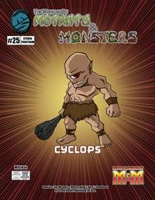 Manual of Mutants & Monsters: Cyclops