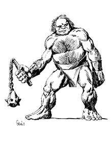 Earl Geier Presents: Ogre with Flail