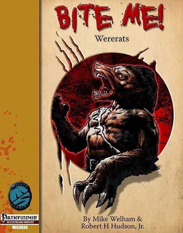 Bite Me! Wererats for the Pathfinder RPG