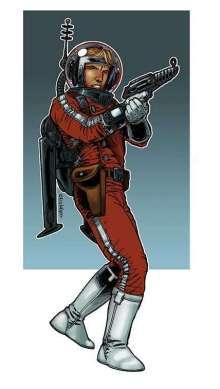 The Art of Eric Lofgren Pulp Spaceman