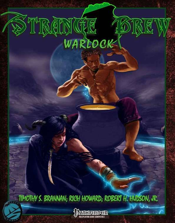 Strange Brew Book: Warlock Pathfinder Edition
