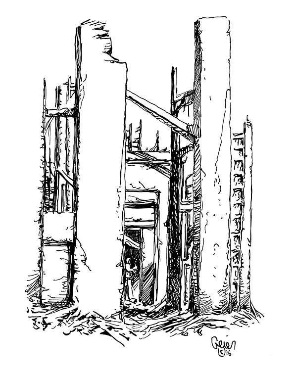 Earl Geier Presents: Haunted Ruins