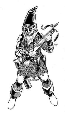 The Art of Eric Lofgren Crossbow Gnome