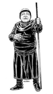 The Art of Eric Lofgren Jolly Friar