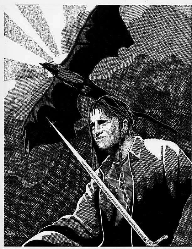 The Art of W Fraser Sandercombe: Dragon Master