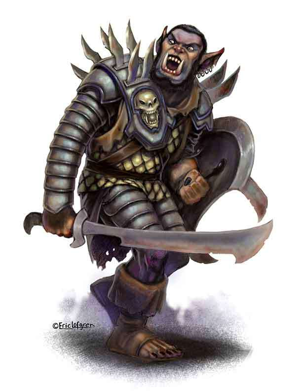 The Art of Eric Lofgren Armored Hobgoblin