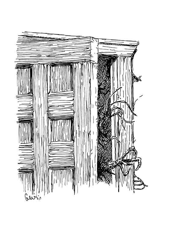 Earl Geier Presents: Horror in the Doorway
