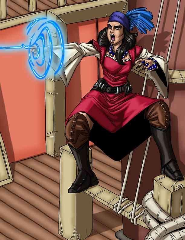 Christina Stiles Presents: Mystic Pirate by Jacob Blackmon