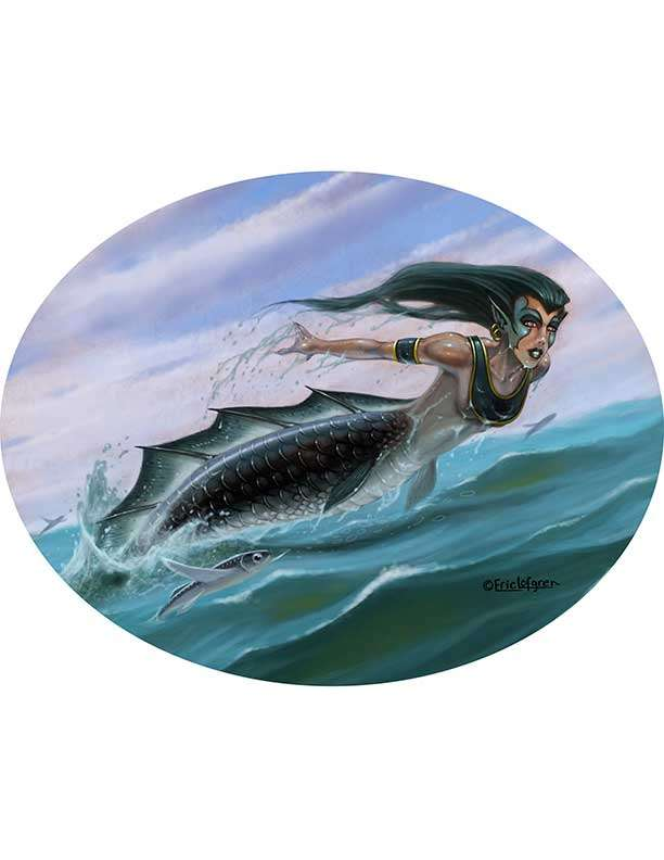 The Art of Eric Lofgren Mermaid