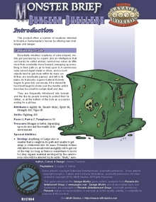 Savage Worlds Monster Brief: Dungeon Dwellers